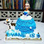 3D Princess Cakes